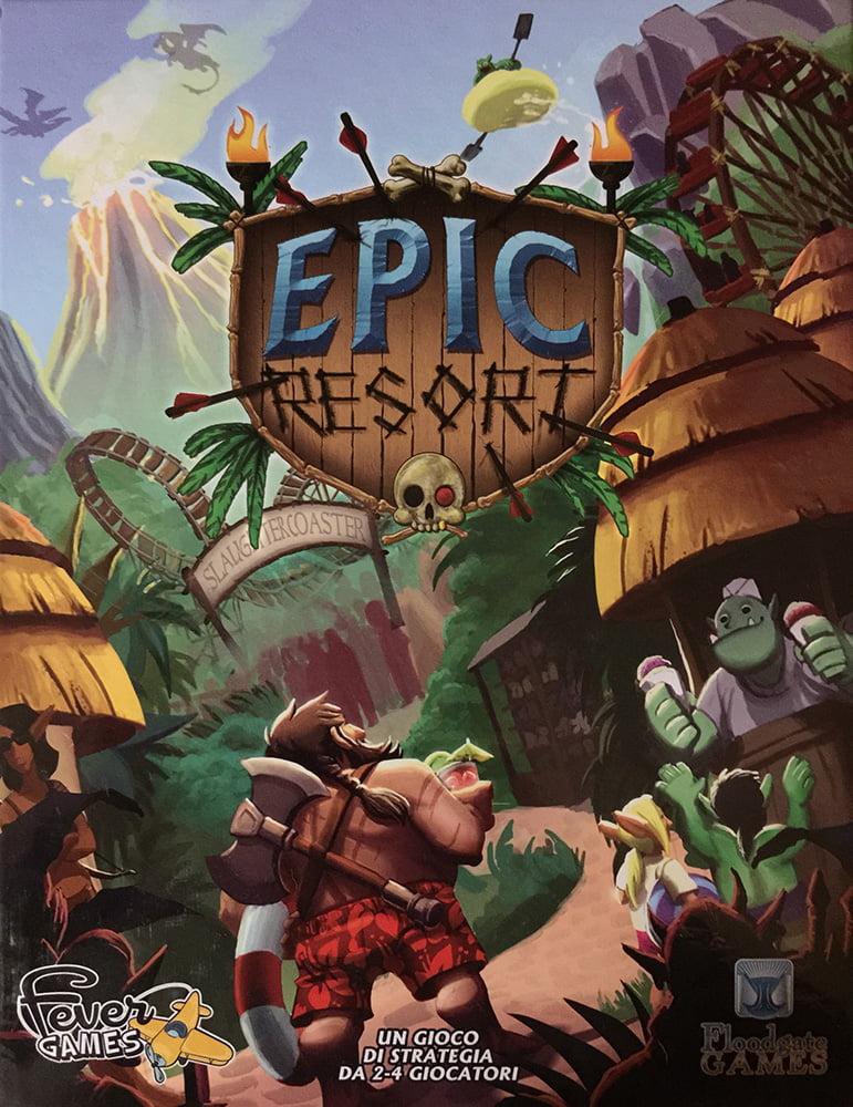 Epic Resort, la vacanza perfetta per l'eroe perfetto...