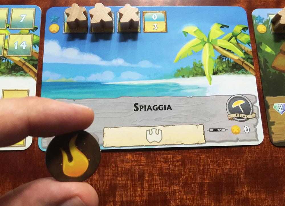 Per fortuna, questa volta il mostro ha attaccato la spiaggia, attrazione che vanta ben 3 fiammelle prima di essere distrutta.