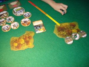 L'inizio di una battaglia: le truppe avanzano rapide, le scontro è imminente... e sarà brutale, credetemi.