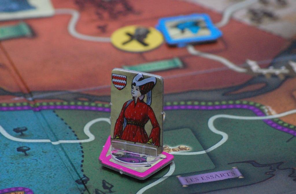 Nobildonna al comando di un esercito.