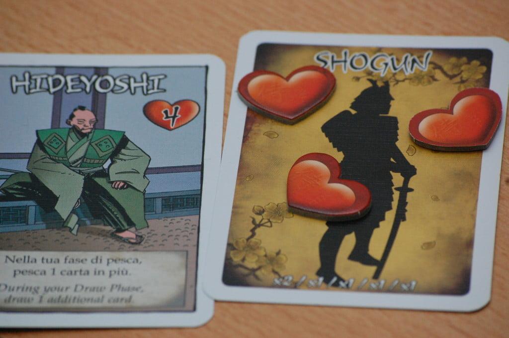 Lo Shogun è l'unico personaggio di cui è nota l'identità (fino alla fine del gioco)