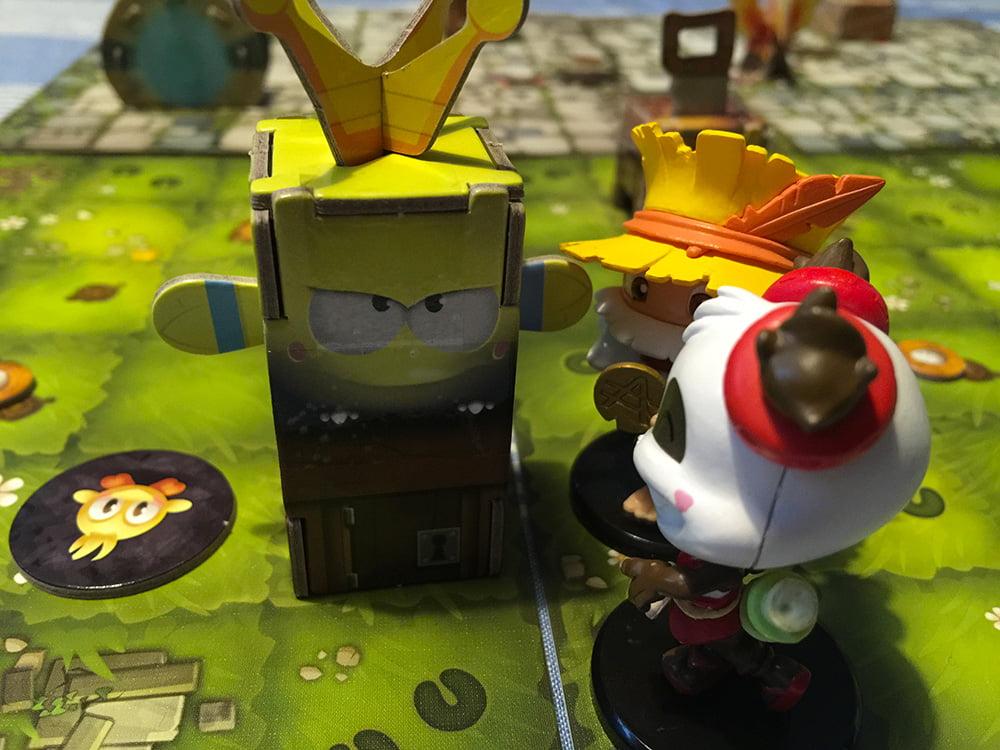 I nostri due Krosmaster si sono alleati e ora stanno per entrare nel dongione...