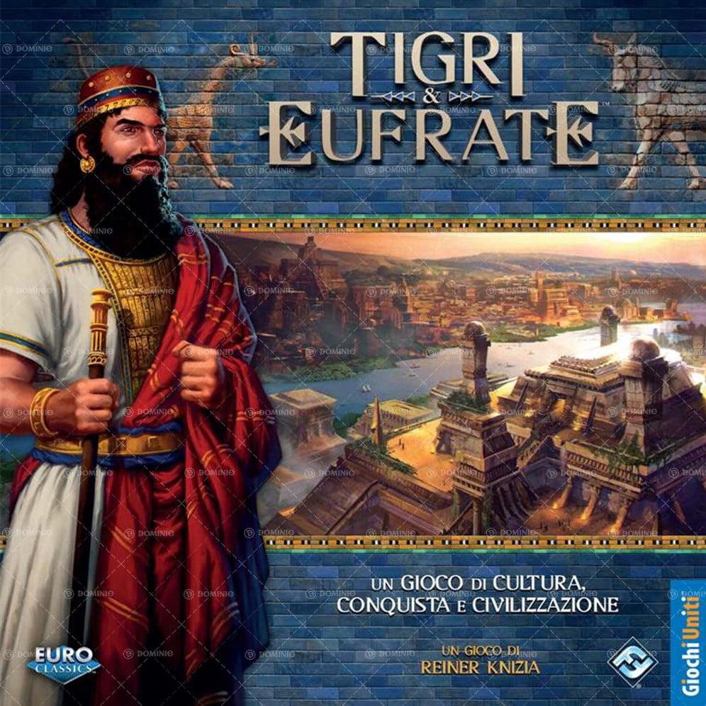 L'dizione italiana di Tigri ed Eufrate. Nonostante non sia una novità, il gioco merita un posto di eccellenza sugli scaffali dei negozi e nella vostra raccolta ludica.