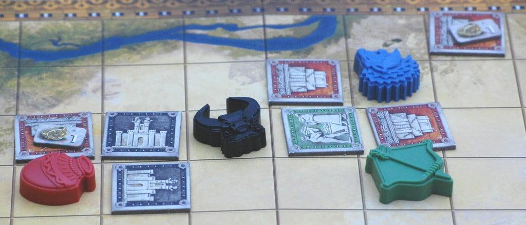 In questo regno convivono tutti e quattro i giocatori: generalmente sono momenti transitori.