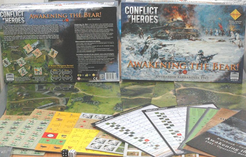 La seconda edizione di Conflict of Heores vanta materiali di eccellenza.