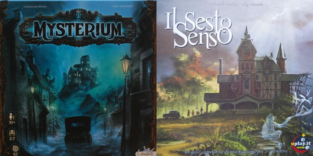 Le copertine già da sole indcano gran parte le differenze dei 2 giochi: Allenatevi a giocare a questi giochi: provate ad indovinarle guardando le figure eppoi leggete il resto della recensione!