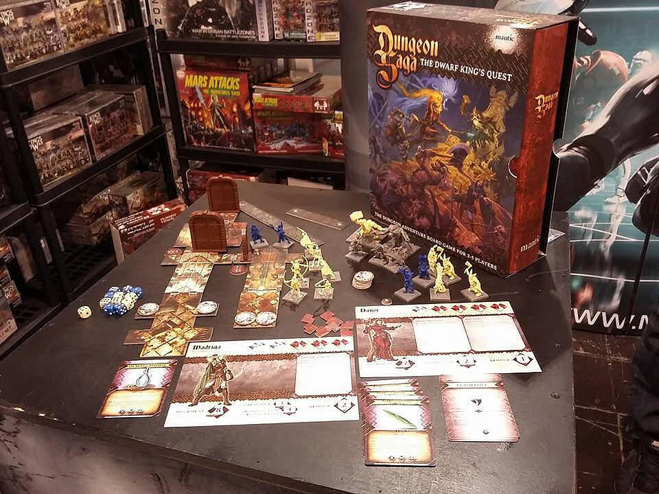 Dungeon Saga - Unboxing