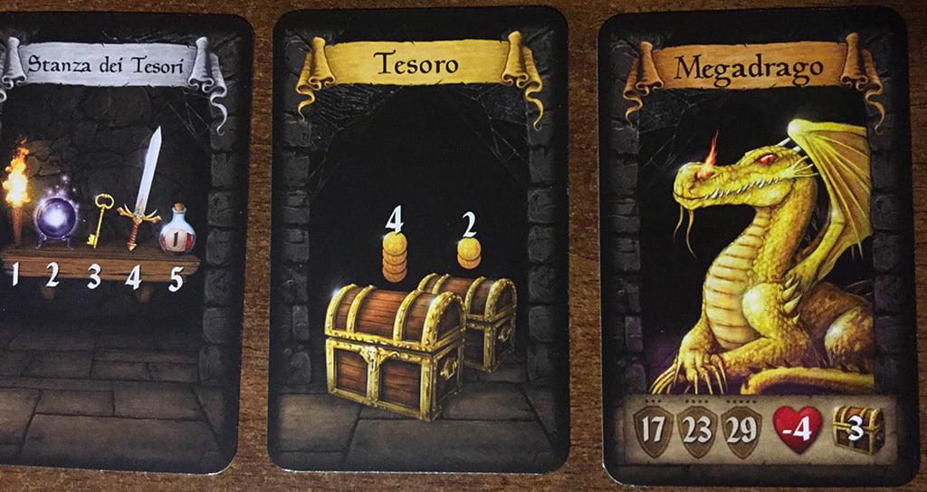 Alla fine del nostro dungeon, troviamo ad attenderci un minaccioso Megadrago:
