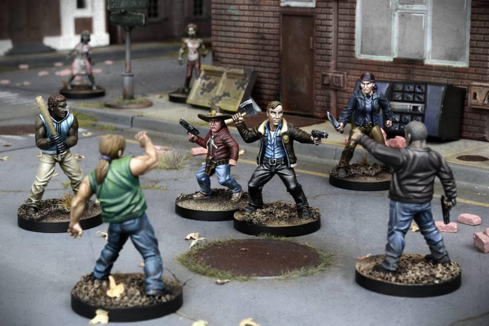 Dettaglio su un combattimento (le miniature ovviamente non saranno dipinte).