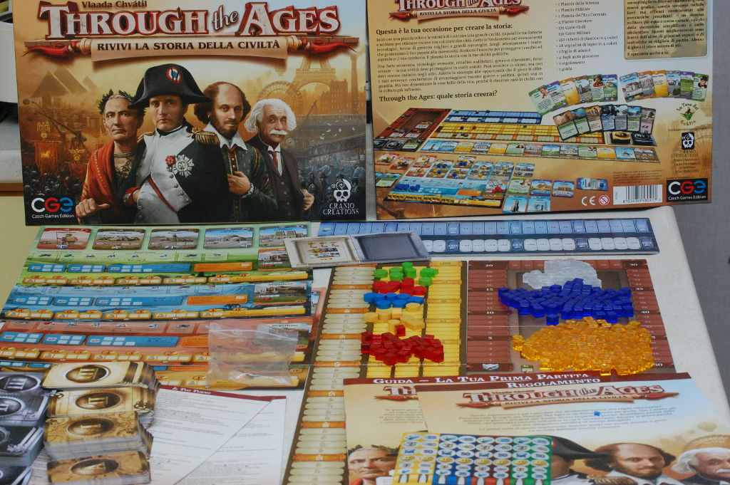 Through The Ages - 2^ edizione - Unboxing