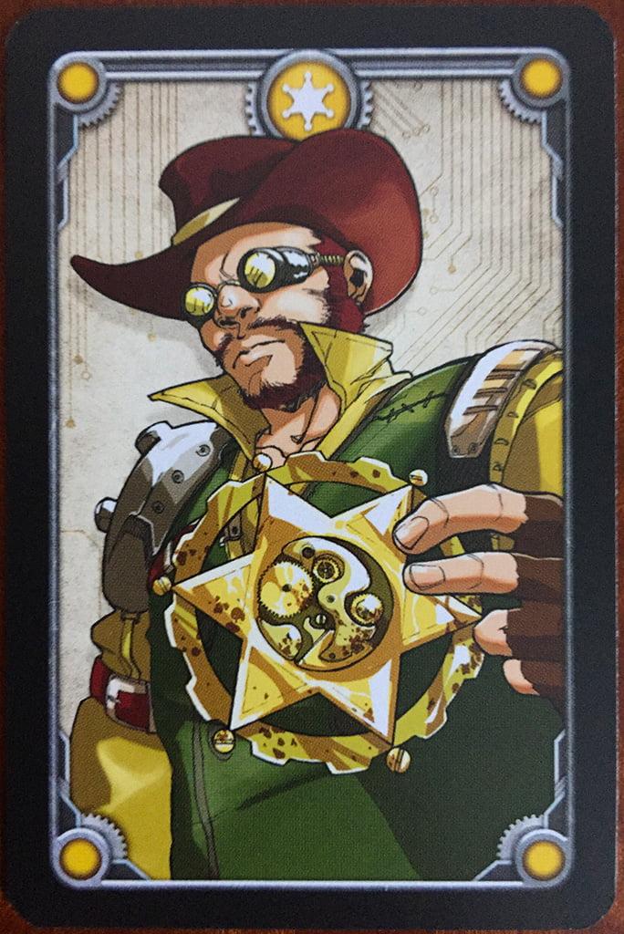 Ed ecco lo sceriffo, con la sua stella dorata ben in vista!
