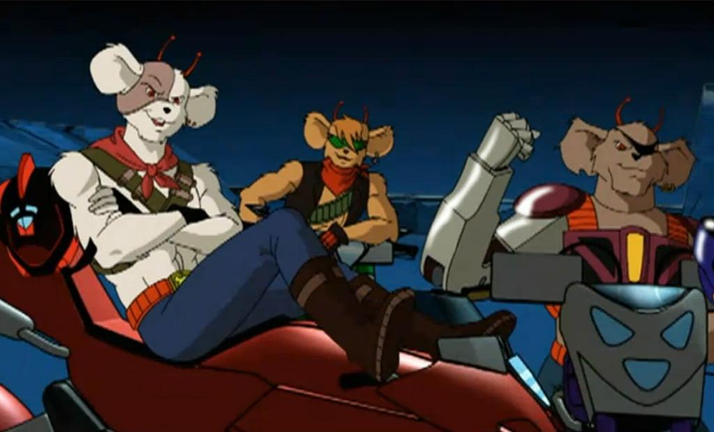 Vi ricordate i roditori marziani Turbo, Sterzo e Pistone?