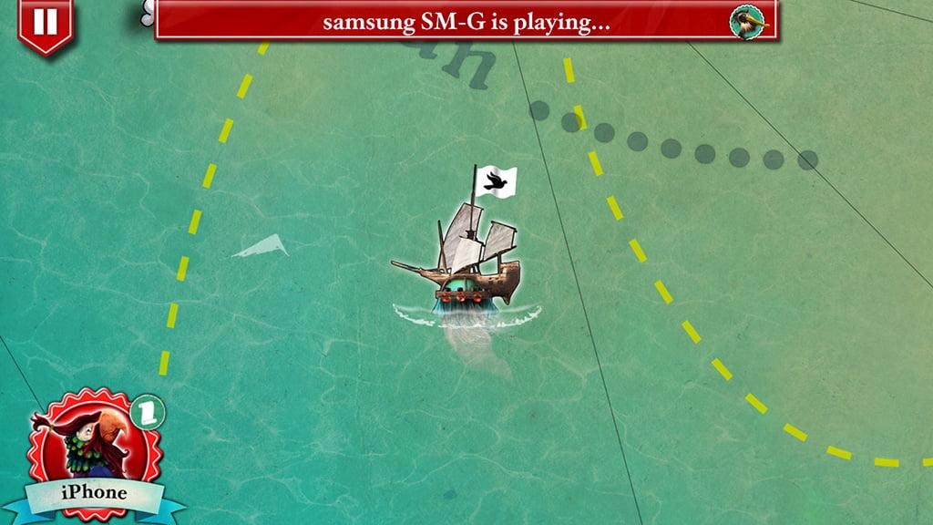 Nella parte superiore della schermata la app ci ricorda che sta giocando un nostro avversario, ma noi possiamo comunque visualizzare le informazioni che ci riguardano direttamente.