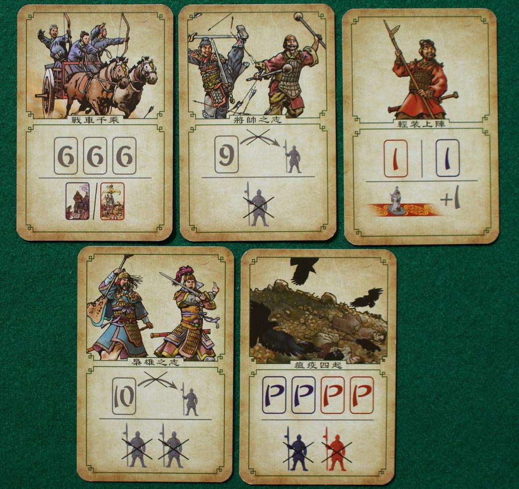 Le carte Evento