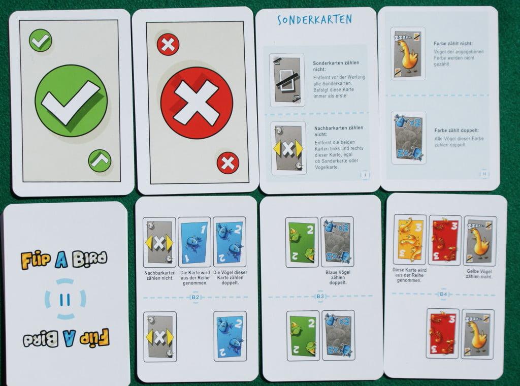 Le carte per votare e quelle riassuntive