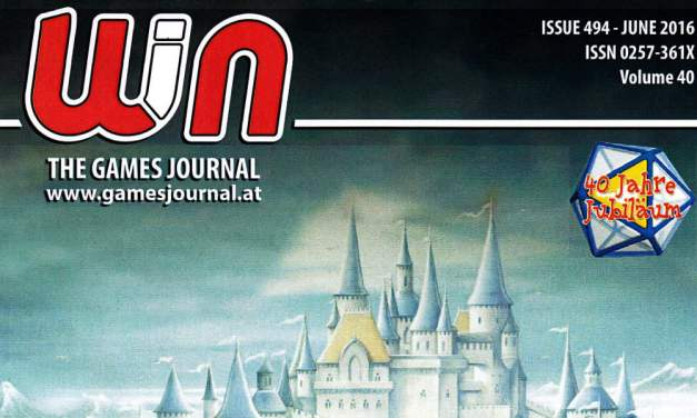 BigCream: WIN – THE GAME JOURNAL n° 494