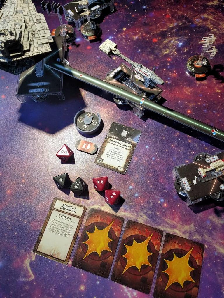 La svolta della battaglia arriva con questa devastante bordata... la Fregata è un rottame in decompressione, l'equipaggio abbandona la nave sui gusci di salvataggio...