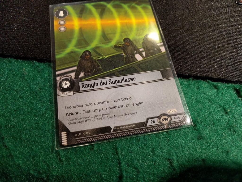 La carta che non si può non avere se si gioca per il Lato Oscuro. Non dico altro.