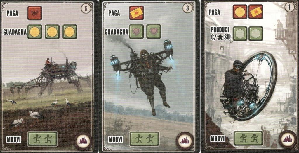 Le carte fabbrica