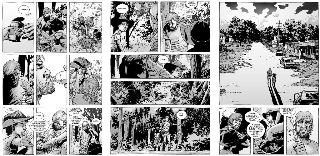 "Il fumetto ""The Walking Dead"""