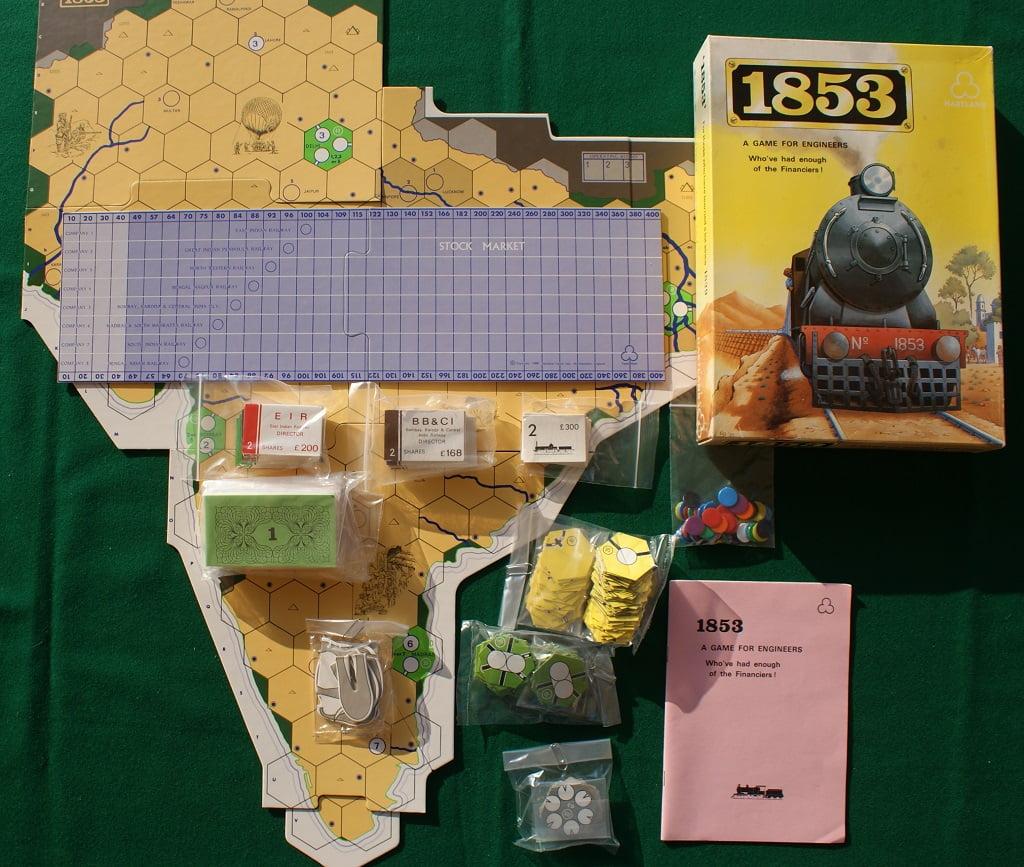 1853: si passa al sub-continente Indiano