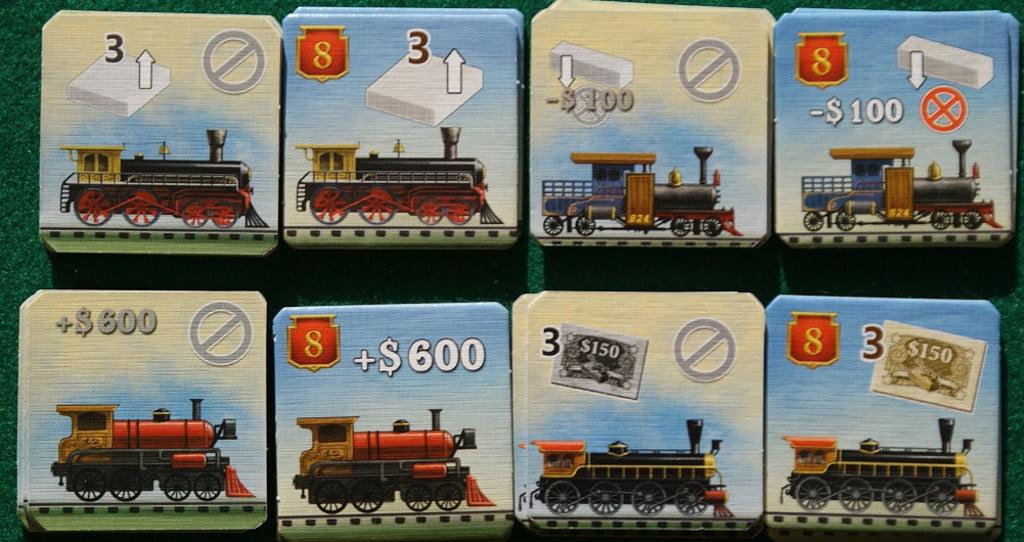 Le tessere Locomotiva