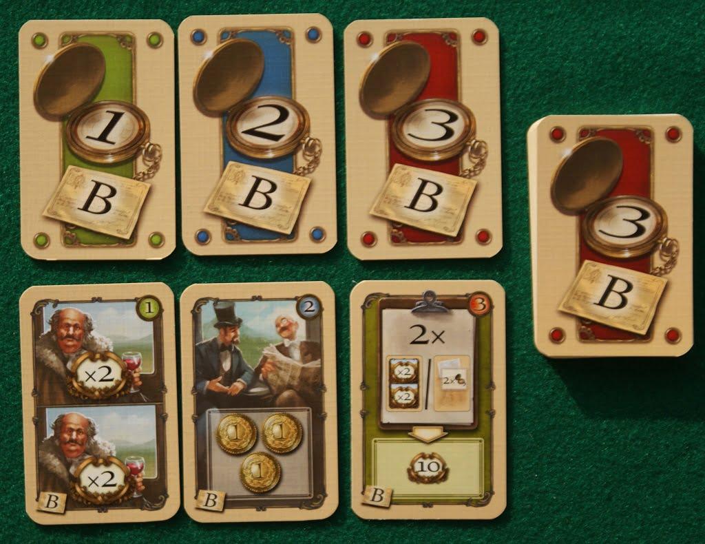 """Alcune carte del modulo """"B"""""""