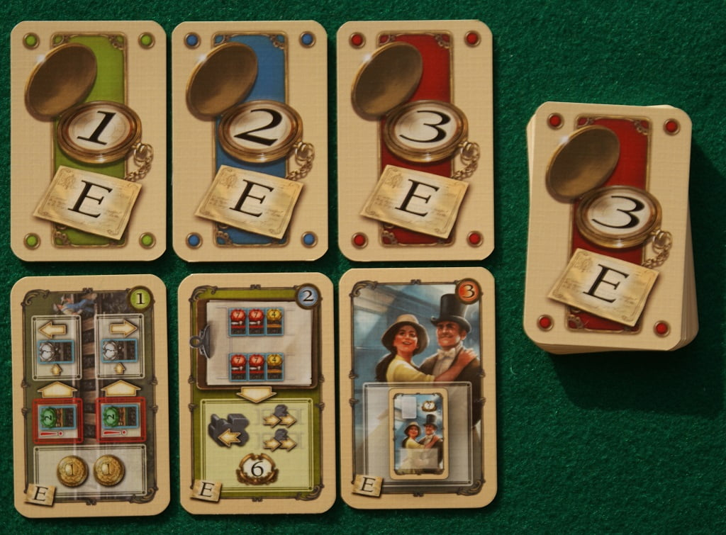"""Alcune carte del modulo """"E"""""""