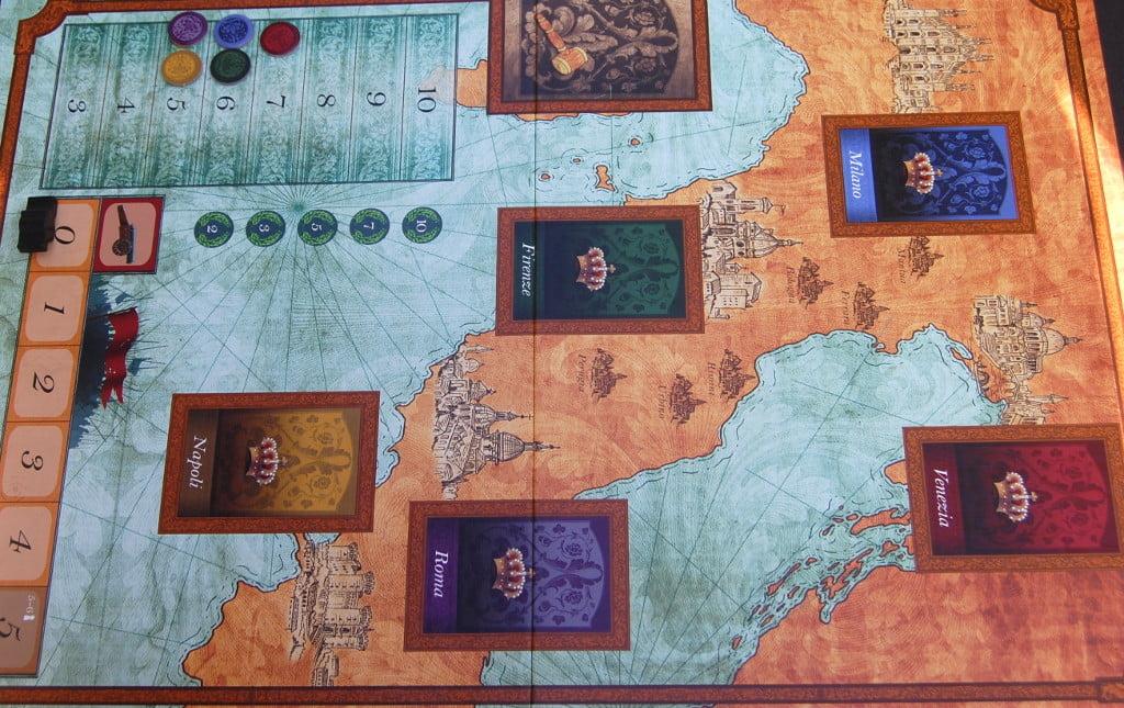 la mappa di gioco