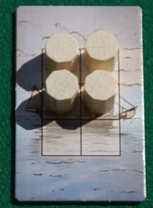Esempio di una nave sulla quale si sta scaricando lo zucchero