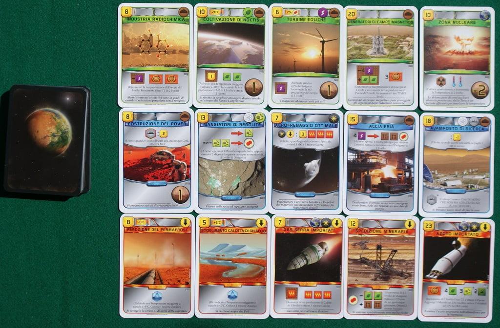 Carte Progetto standard