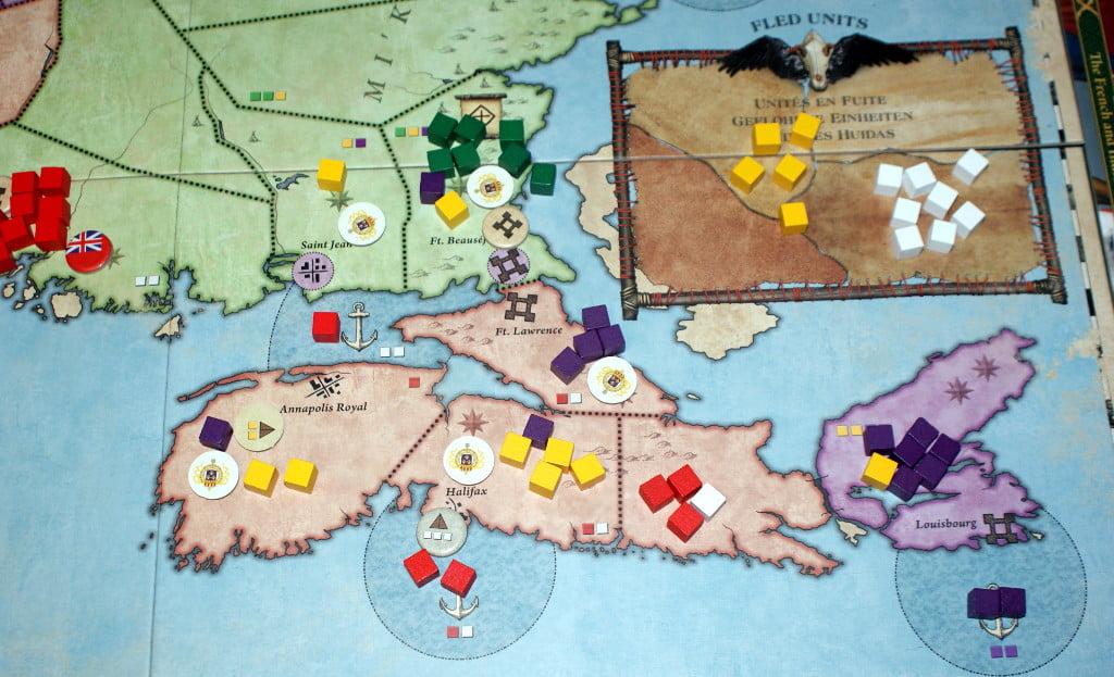 La zona di Halifax e Louisburg