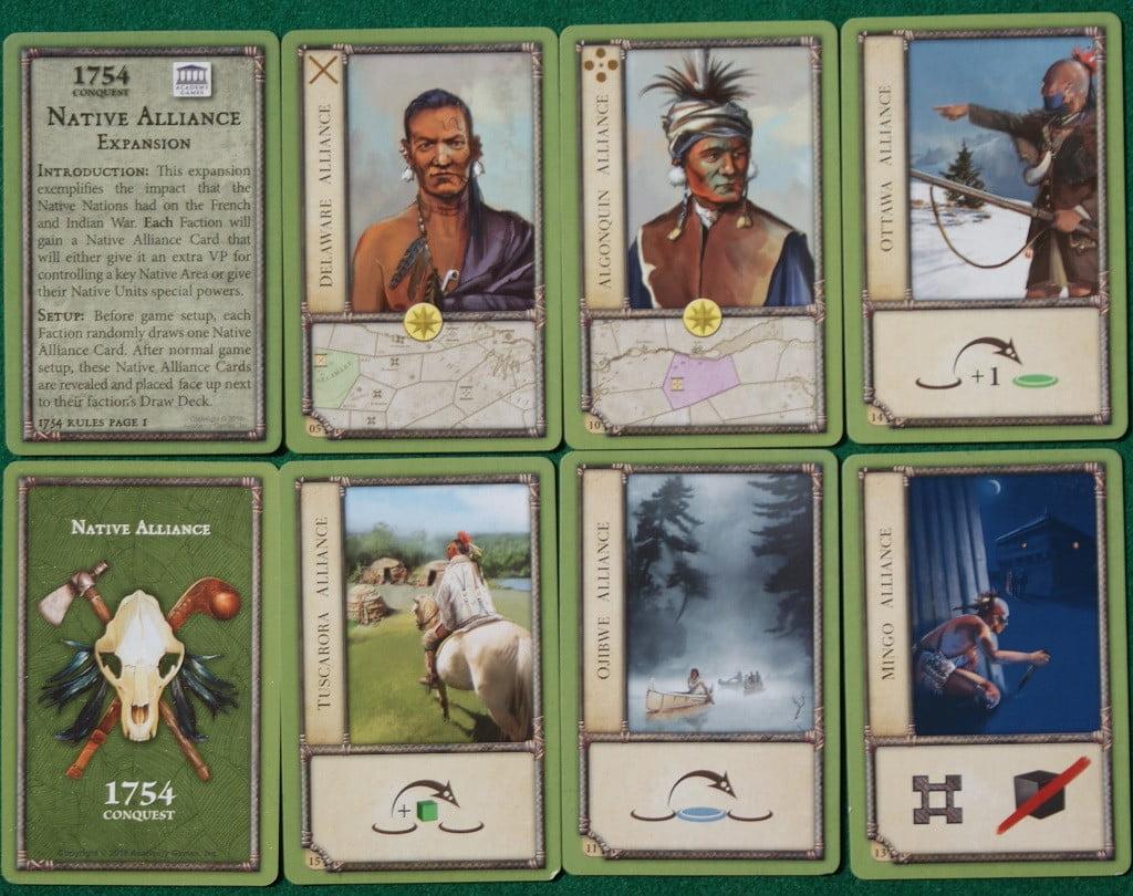 """Le carte """"Native"""" dell'espansione"""