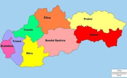 Carta politica della Slovacchia