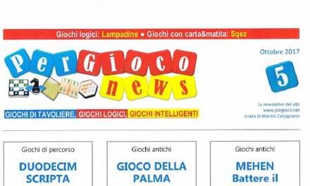 Riviste: PER GIOCO NEWS n° 5