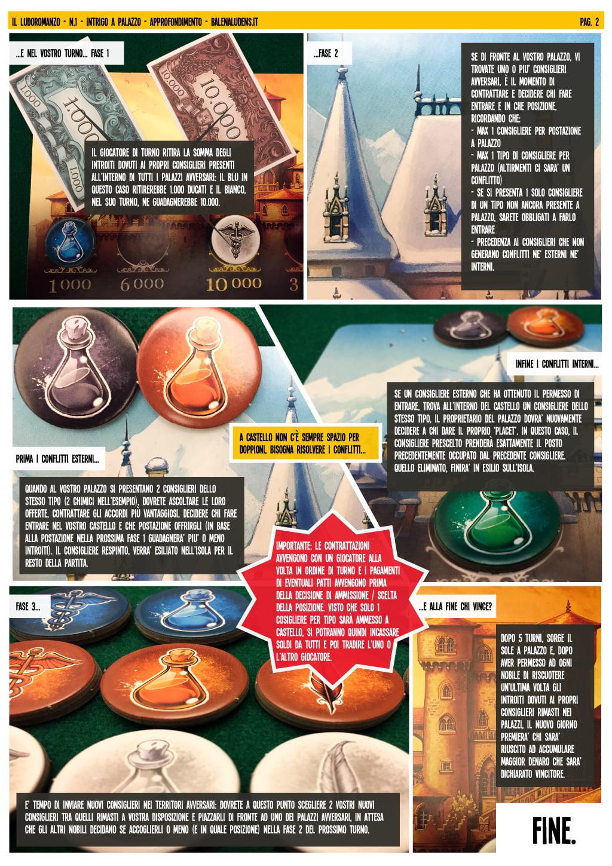 intrigo a palazzo - ludoromanzo pagina 2