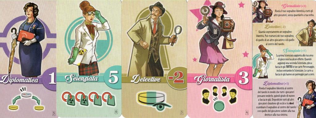 Carte personaggio 1