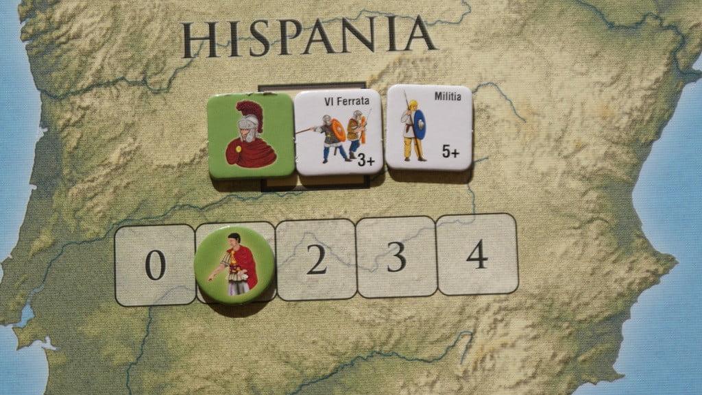 Guarnigione iniziale della provincia Hispania