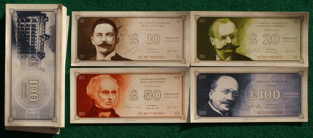 Le banconote del gioco
