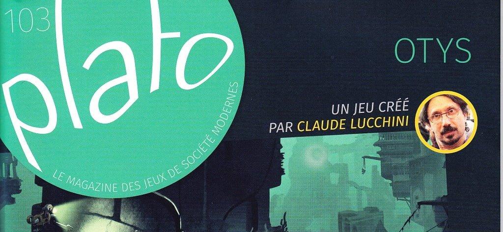 Riviste: PLATO n° 103