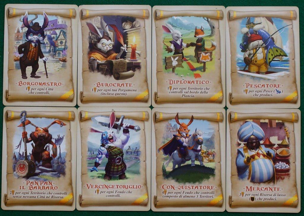 Le carte Pergamena