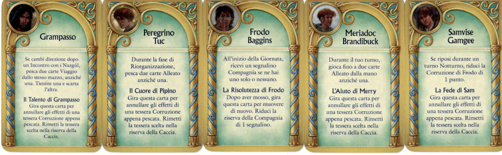 Tutti gli alleati di Frodo
