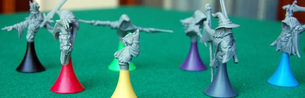 Le miniature si preparano alla seconda parte del gioco