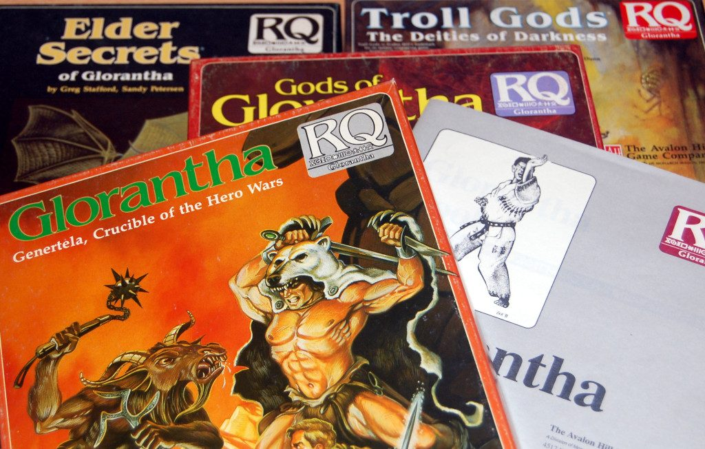 Glorantha versione Avalon Hill