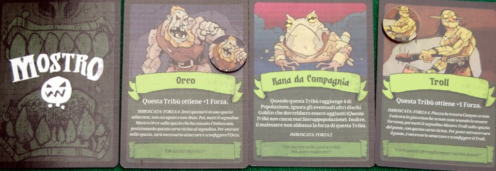 Carte Mostro