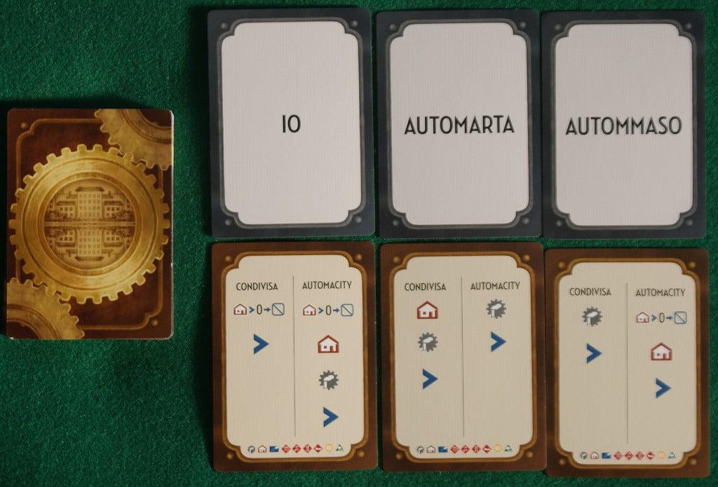 """Le carte """"Automa"""""""