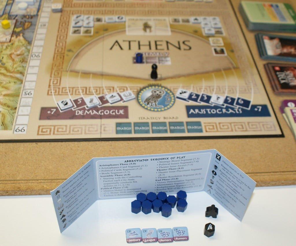 Situazione all'Agorà di Atene