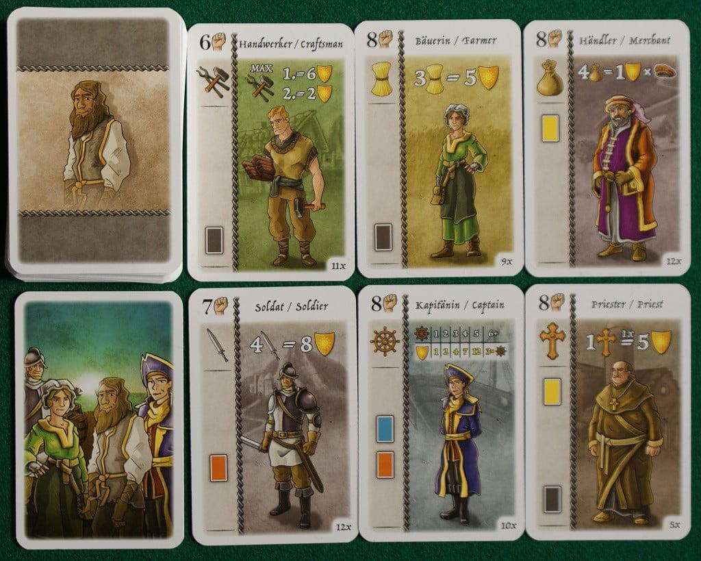 Le carte dei Personaggi