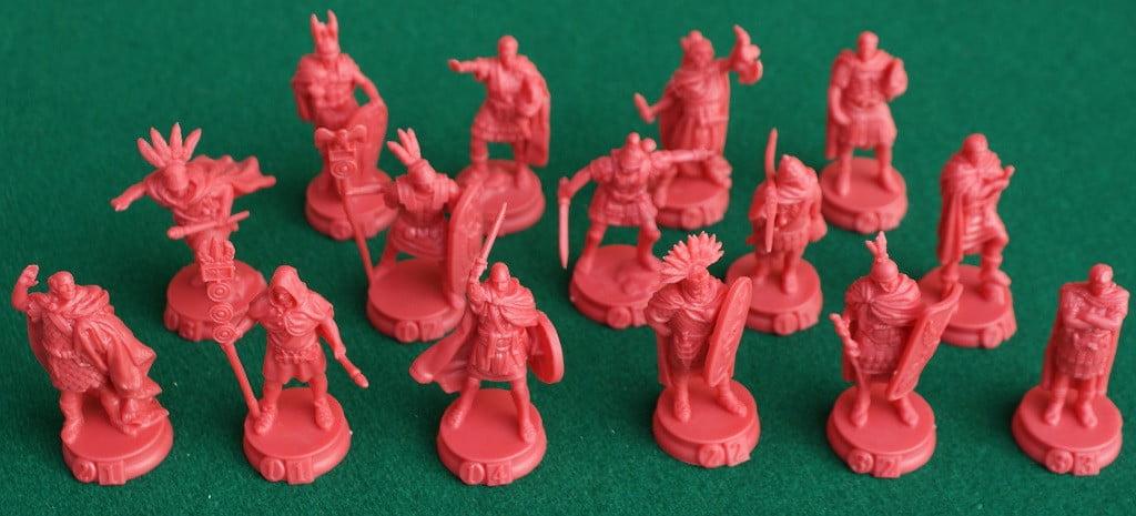 Le miniature dei generali Romani