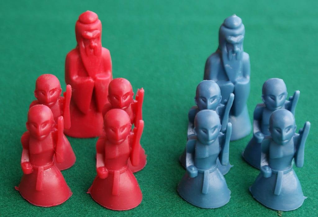 Le miniature del gioco